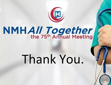 Thank You from the NMHA Annual Meeting
