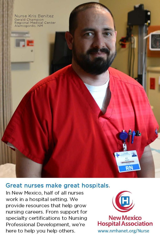 New Mexico Hospital Association - Nurse